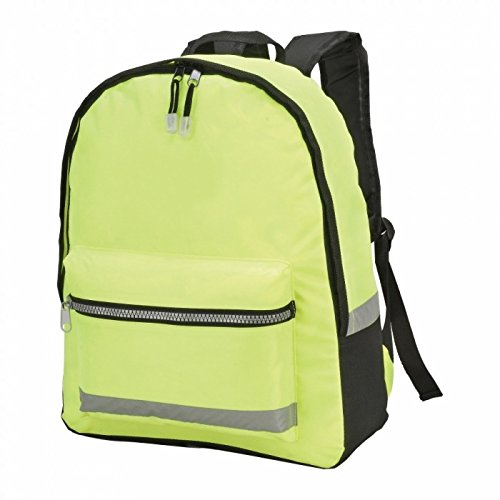 Shugon Gatwick Hi-Vis Backpack (18 liters) (One Size) (Hi-Vis - Gatwick Shop