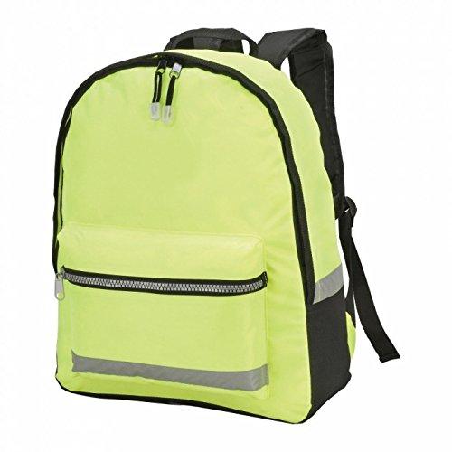 Shugon Gatwick Hi-Vis Backpack (18 liters) (One Size) (Hi-Vis - Gatwick Shops