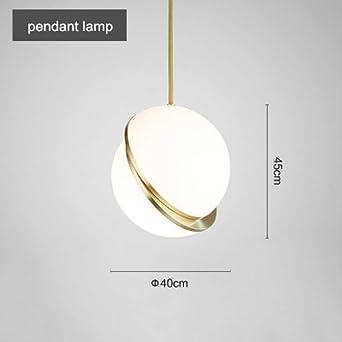 Modern Pendant Light White Globe Pendant Lamp Round Hanglamp