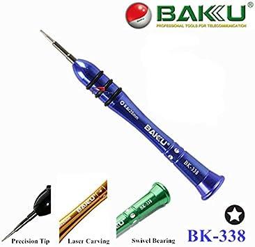 Profesional destornillador de precisión bakú bk-338 para iphone 4 ...