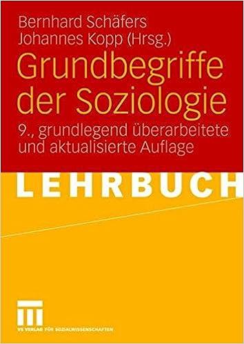 GRUNDBEGRIFFE DER SOZIOLOGIE PDF DOWNLOAD