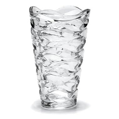 Mikasa Atlantic Crystal Vase, 11-Inch