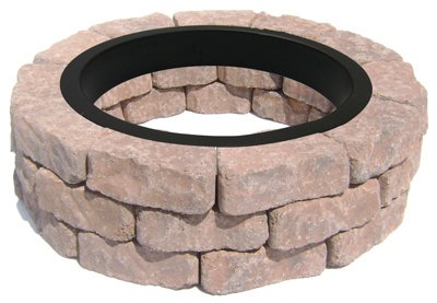 Image Unavailable - Amazon.com : Oldcastle TV207270 Britt Flag Fire Pit Kit : Garden