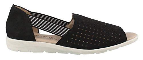 Remonte Donna, D1923 Slip On Black Casual