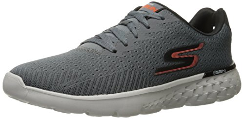 Men's Disperse Orange Performance Skechers Run Shoe Go Charcoal Running 400 FwZqU5SH