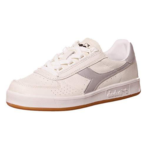 L elite Diadora White B silver q6xw7B0x
