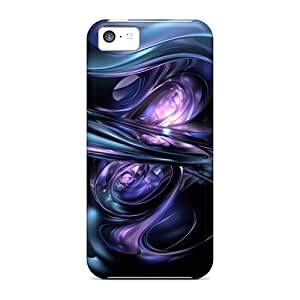 Cute Appearance Covers/tpu UDK1548RQKO 3d Abstract Cases For Iphone 5c