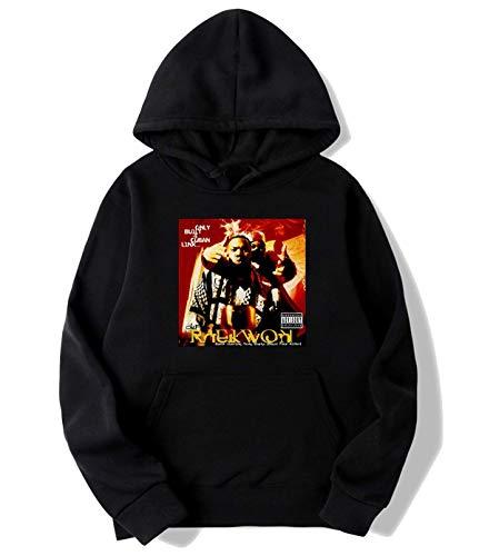 DWerner Raekwon - Only Built 4 Cuban Linx Hoodies Sweater for Mens Black M
