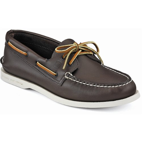 Sperry Men's Authentic Original Lace-Up,Classic Brown,10 N US