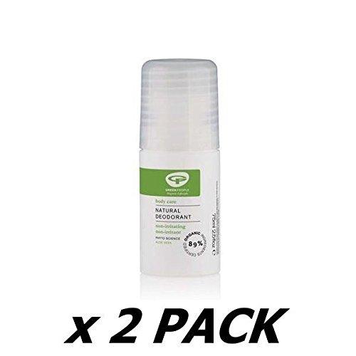 (2 Pack) - Green People - Aloe Vera Deodorant | 75ml | 2 PACK BUNDLE