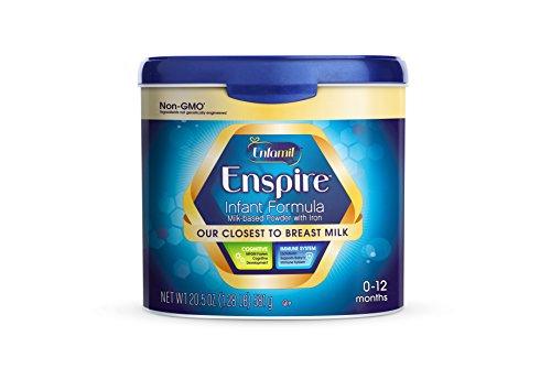 Enfamil Enspire Infant Formula, Powder, 20.5 Ounce Reusable Tub