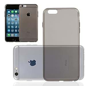Chili Wicked iPhone de Apple 6s / 6 (4,7 pulgadas) Carcasa ultra delgado TPU (carcasa protectora hecha a medida, muy delgada) gris humo