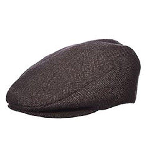 (Dorfman Pacific Wool Blend Driving Flat Cap - 242)