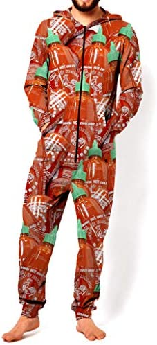 RsgeOn Let`s Rage Sriracha Premium All Over Print Onesie