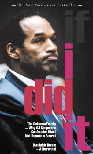 If I Did it: Amazon.es: Simpson, O. J., Dunne, Dominick, The ...