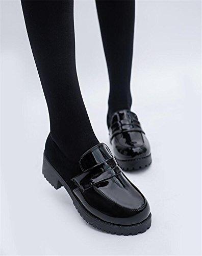 Low Top Dress Japanese Girl's Lolita Oxford Maid Women's Shoes Uniform Students EqwOTCC