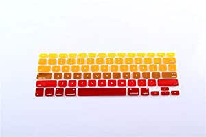 Gradient 4 Silicone Keyboard Skin Case Cover For Apple Macbook Pro Air Retina 13 13.3 And Pro Retina 15 15.4inch