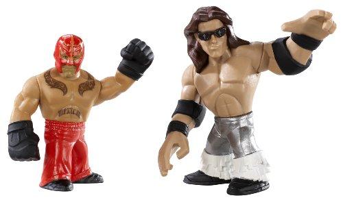 WWE Rumblers Rey Mysterio And John Morrison Figure 2-Pack (Rey Mysterio Wwe)