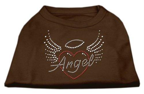 Mirage Angelo Cuore Strass Cane Camicia