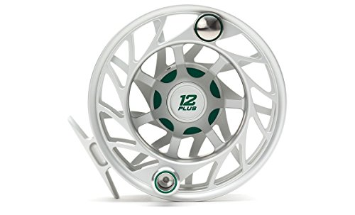 Hatch Gen 2 Finatic 12 Plus Fly Reel, Clear/Green, Mid Arbor
