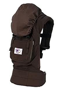 Ergobaby Organic Baby Carrier - Dark Chocolate - One Size