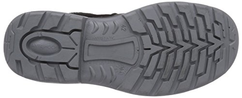 MTS Sicherheitsschuhe  Santos Base+ Montis S1P Flex ÜK 4715, Chaussures de sécurité mixte adulte, Gris (olivgrau/orange), 42