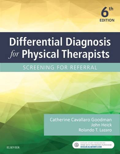 323478492 - Differential Diagnosis for Physical Therapists: Screening for Referral, 6e