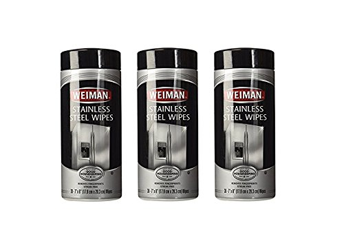 Weiman Stainless Steel Wipes ct 3