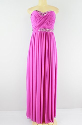 Full Length Strapless Gown - 8
