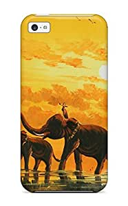 New Cute Funny Oriental Case Cover/ Iphone 5c Case Cover