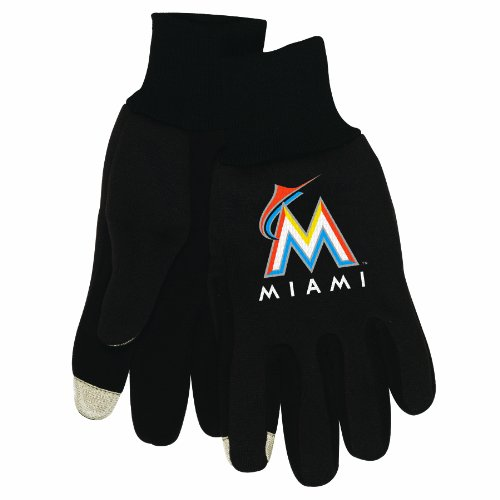 MLB mens Technology Touch Gloves