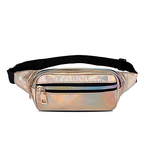 - Bag Belt Waist Pack Waist Bag Matte Material Fanny Pack Purse Translucent Reflective Chest Waist Bag Fanny Pack,Dan La Jin