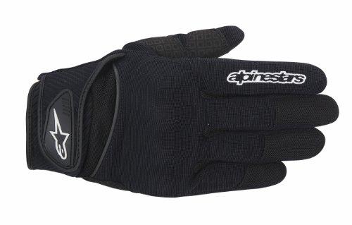 Alpinestars Spartan Men's Street Motorcycle Gloves - Black / Medium