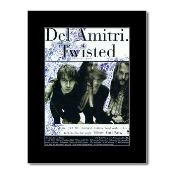 Del Amitri - Twisted Mini Poster