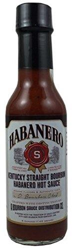 Kentucky Straight Bourbon Habanero Hot Sauce (5oz.)