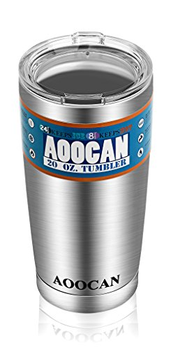 Aoocan Stainless Tumblers Insulated Tumbler