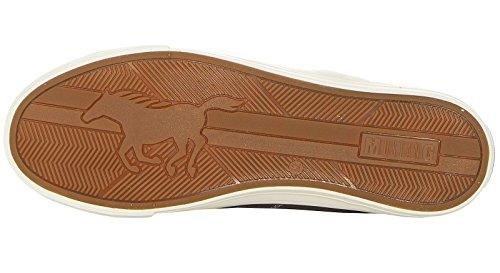 Grigio Infilare Sneaker Dunkelgrau Mustang 20 20 401 4127 Uomo YBx6pg