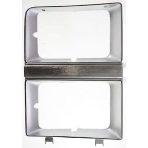 CPP GM2512106 Headlight Door for 81-82 Chevy C30, K5 Blazer, Pickup, Suburban