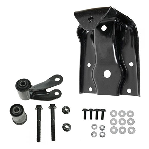 Price comparison product image Leaf Spring Rear Shackle & Bracket Repair Kit for Silverado Sierra 1500 Hybrid