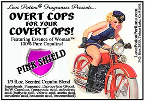 Love Potion: OCCO: Pink Shield Scented Coplulins ~ 1/3 Fl. Oz. Pheromone Enhanced Perfume Oil for (Concentrated Pheromone Cologne)
