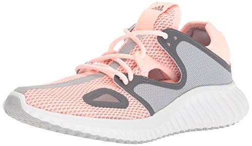 adidas Women's Run Lux Clima Shoe, Clear Orange/Grey/White, 8 M US (Womens Spring Adidas)