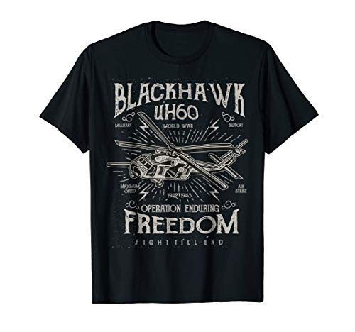 blackhawk tshirt uh 60 - blackhawks tee shirt
