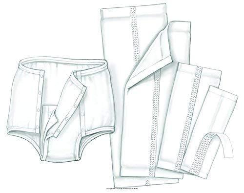 HandiCare Garment Liner, Grmt Liner 7X17 in, (1 CASE, 200 EACH)