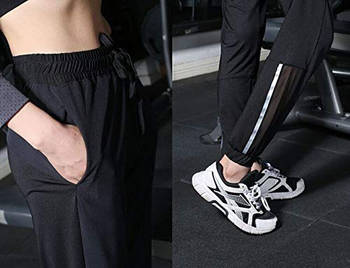 Sakj Y Reflectantes c Mujer Camisa Traje De Gimnasio Deportivo Mujeres Conjunto Dos Piezas Yoga S Para Pantalones wFRUOPw
