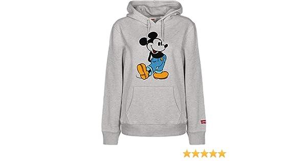 Levis X Mickey Mouse Graphic Po B Hm Fill Sudadera Capucha Hombre Gris: Amazon.es: Ropa y accesorios