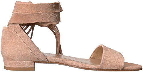 Stuart Weitzman Women's Corbata Flat Sandal Bisque Inexpensive sale online clearance store sale online where to buy largest supplier sale online TXIaUlVEY