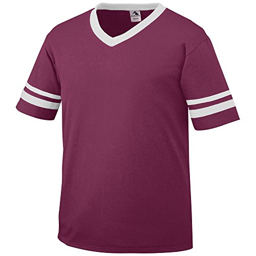 Augusta Sportswear Sleeve Stripe Jersey, Large, - Stores Augusta