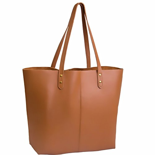 Extra Large Leather Bag - 8
