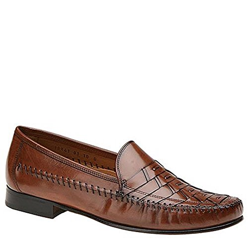 Florsheim Mens Bridgeport Leather Closed Toe Penny Loafer Cognac
