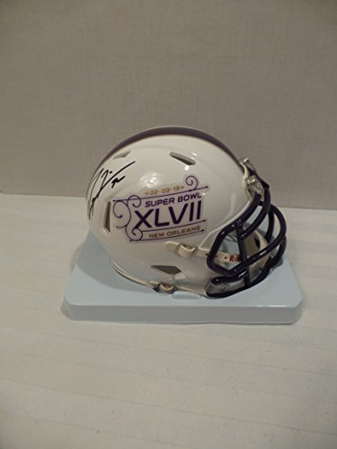 (Ray Lewis Signed Baltimore Ravens Autographed Riddell Mini Helmet Certified Authentic Autographed)